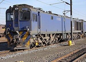 South African Class 11E - Image: SAR Class 11E 11 028