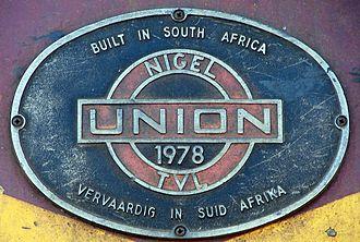 Union Carriage & Wagon - Image: SAR Class 6E1 Series 7 E1862 BP