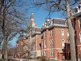 National Register of Historic Places listings in west Davenport, Iowa - Image: SAU Ambrose Hall 02