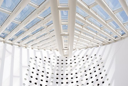 e6d05532ee Ceiling of the San Francisco Museum of Modern Art by Snøhetta (2016)