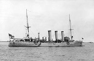SMS Bremen - Bremen in the United States in 1912
