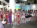 SNK Playmore promotional models at Tokyo Game Show 20070921 2.jpg