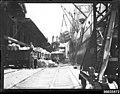 SS ULYSSES at a Sydney wharf loading wheat, c 1934 (7869543674).jpg