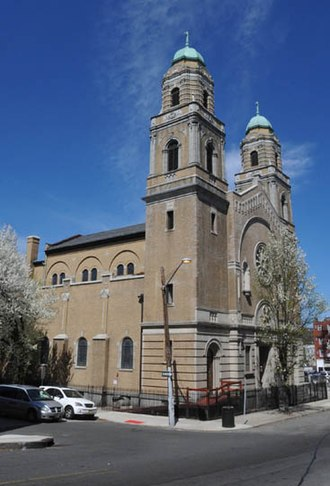 Roman Catholic Diocese of Paterson - St. Michael the Archangel Church on Cianci Street, Paterson
