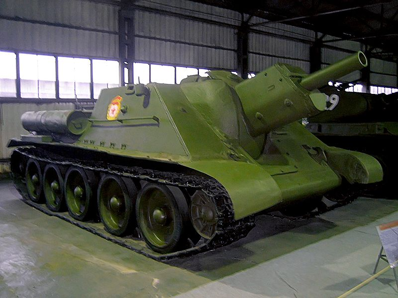 A Su-122.