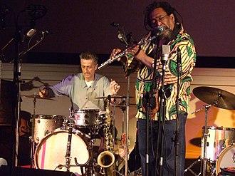 Sabir Mateen - Image: Sabir Mateen on flute