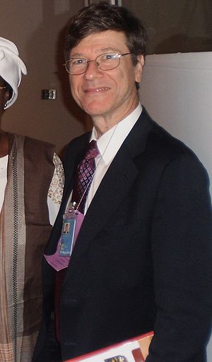 Jeffrey Sachs - Jeffrey Sachs at a UN Meeting, 2009