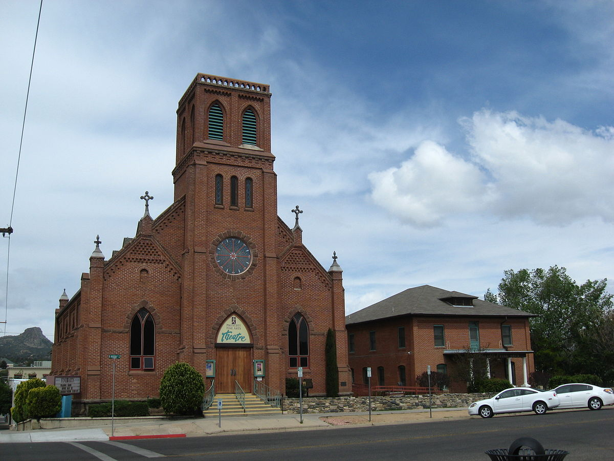 Sacred heart catholic church and rectory prescott for The prescott