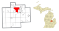 Saginaw Charter Township, MI location.png