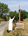Saint-Just-d'Avray - Bénédiction de la croix d'Avray (août 2017) 2.jpg