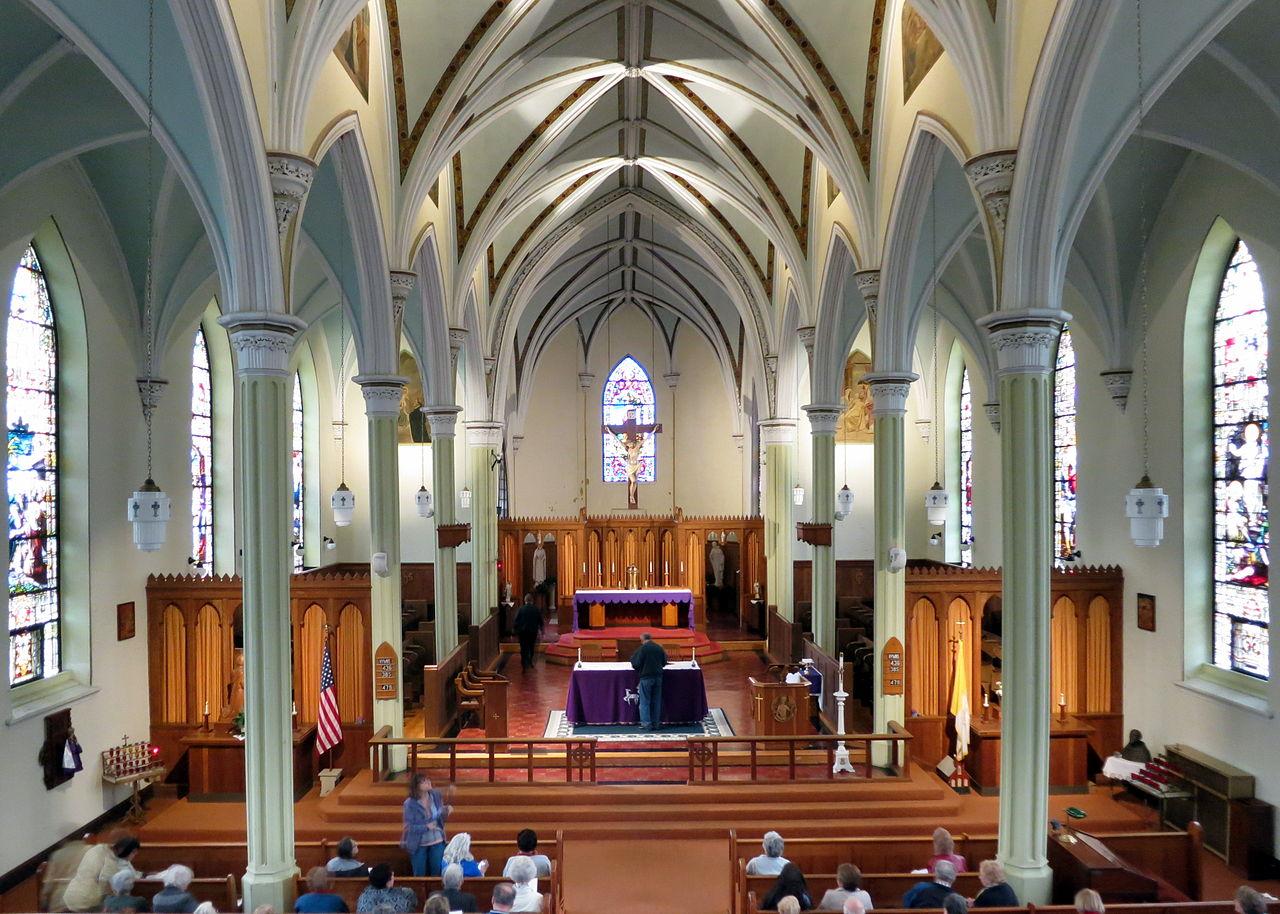 File Saint Joseph Catholic Church Somerset Ohio Nave