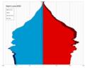 Saint Lucia single age population pyramid 2020.png