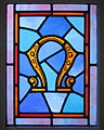 Saint Peter Catholic Church (Millersburg, Ohio) - stained glass, Omega.jpg