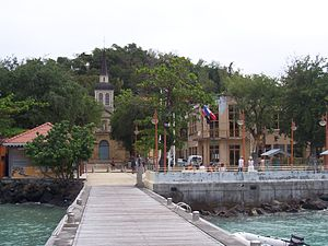 Arrondissement of Le Marin - Saint-Anne in Le Marin, Martinique
