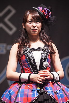 Saki Nakajima at Japan Expo 2014.jpg