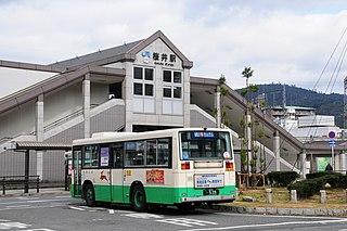 Sakurai Station (Nara) Railway station in Sakurai, Nara Prefecture, Japan