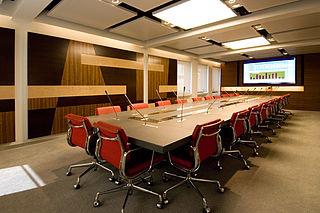 Ein Konferenzraum oder größe