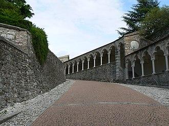Udine Castle - Image: Salite castello udine
