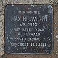 Salzburg - Altstadt - Arenbergstraße 33 - Stolperstein Max Neuwirth.jpg