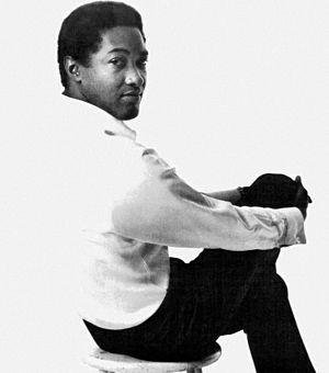 Sam Cooke - Cooke in Billboard magazine