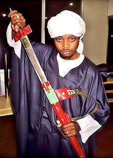 Takoba Type of sword used across the western Sahel