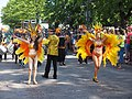 Samba dancers from Samba Tropical at Helsinki Samba Carnaval 2019.jpg