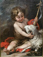 The Infant Saint John Playing with a Lamb
