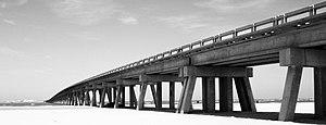 San Luis Pass - Image: San Luis Pass Bridge Texas 3037x 1160 BW