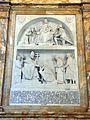 San giovanni in laterano, interno, navata interna dx, cenotafio di silvestro II, m. 1003, 02.jpg