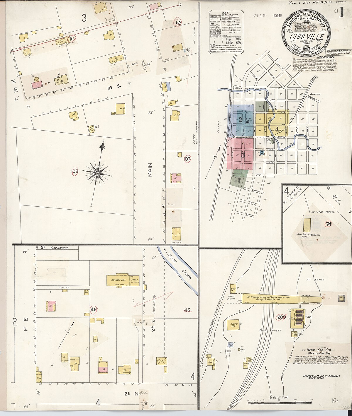 File:Sanborn Fire Insurance Map From Coalville, Summit