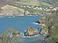 Sandy Cove at High Tide - geograph.org.uk - 364898.jpg
