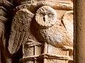 Santes Creus Cloister Owl 2.JPG