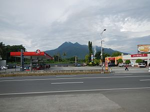Santo Tomas, Batangas - Mount Makiling seen from downtown Santo Tomas