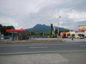 Santo Tomas, Batangas - Mount Makiling seen from downtown Santo Tomas