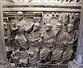 Sarcofago detto di stilicone, IV secolo, gesù tra gli apostoli 03.jpg