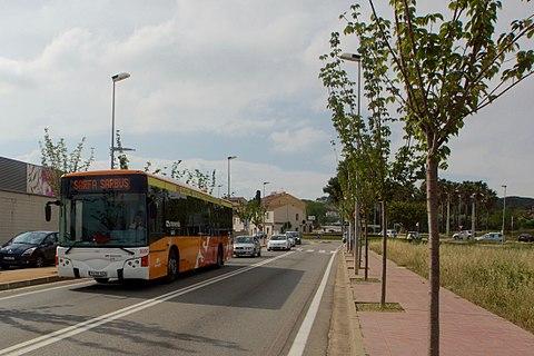 Sarfa bus Calonge