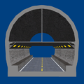 Sasago Tunnel(Chūō Expwy) 3D model 2.png