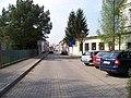 Satalice, Hálova, od ulice K nádraží.jpg