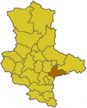 Bitterfeld (district) - Image: Saxony anhalt btf