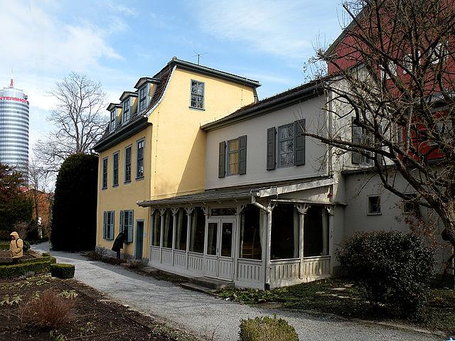 Дом Шиллера в саду при обсерватории Йены