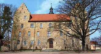 Saxe-Römhild - Glücksburg Castle in Römhild
