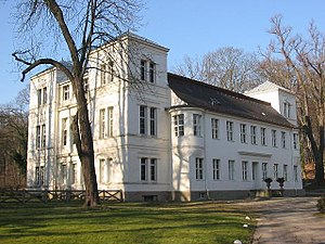 Alexander von Humboldt - The Tegel Palace, Berlin, where Alexander and his brother Wilhelm lived for several years.