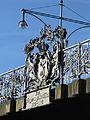 Schnewlinbrücke über die Dreisam und B 31a in Freiburg, Jugendstilgeländer.jpg