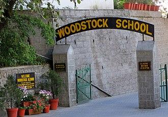 Woodstock School - Woodstock entrance