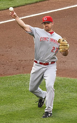 Scott Rolen - Rolen with the Cincinnati Reds