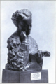"""Scottish Women's Hospital - """"Our Chief"""". Bust of Elsie Inglis by Mestrovitch (Ivan Meštrović). In the Scottish National Gallery.png"""