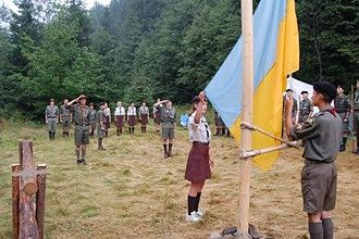 Scouting and Guiding in Ukraine - Ukrainian Scout camp held by Plast