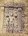 Sculpture of Aditya, the Sun god, of Gupta period, from Garhwa, Allahabad, 1870s.jpg
