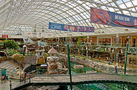 Sea Life Cavern wing at West Edmonton Mall.jpg