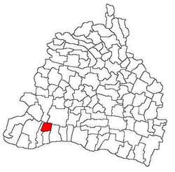 Vị trí của Seaca de Câmp
